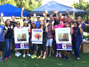 Local YANA Cancer Comfort blanket making event